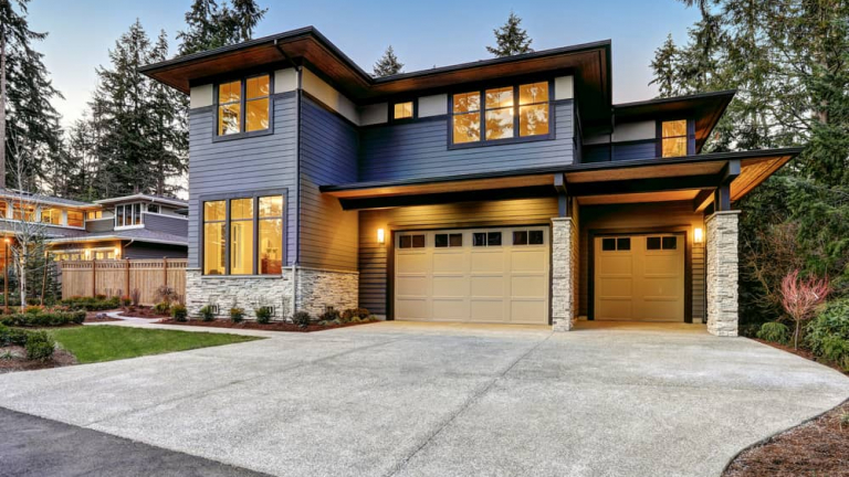 Luxurious,New,Construction,Home,In,Bellevue,,Wa.,Modern,Style,Home